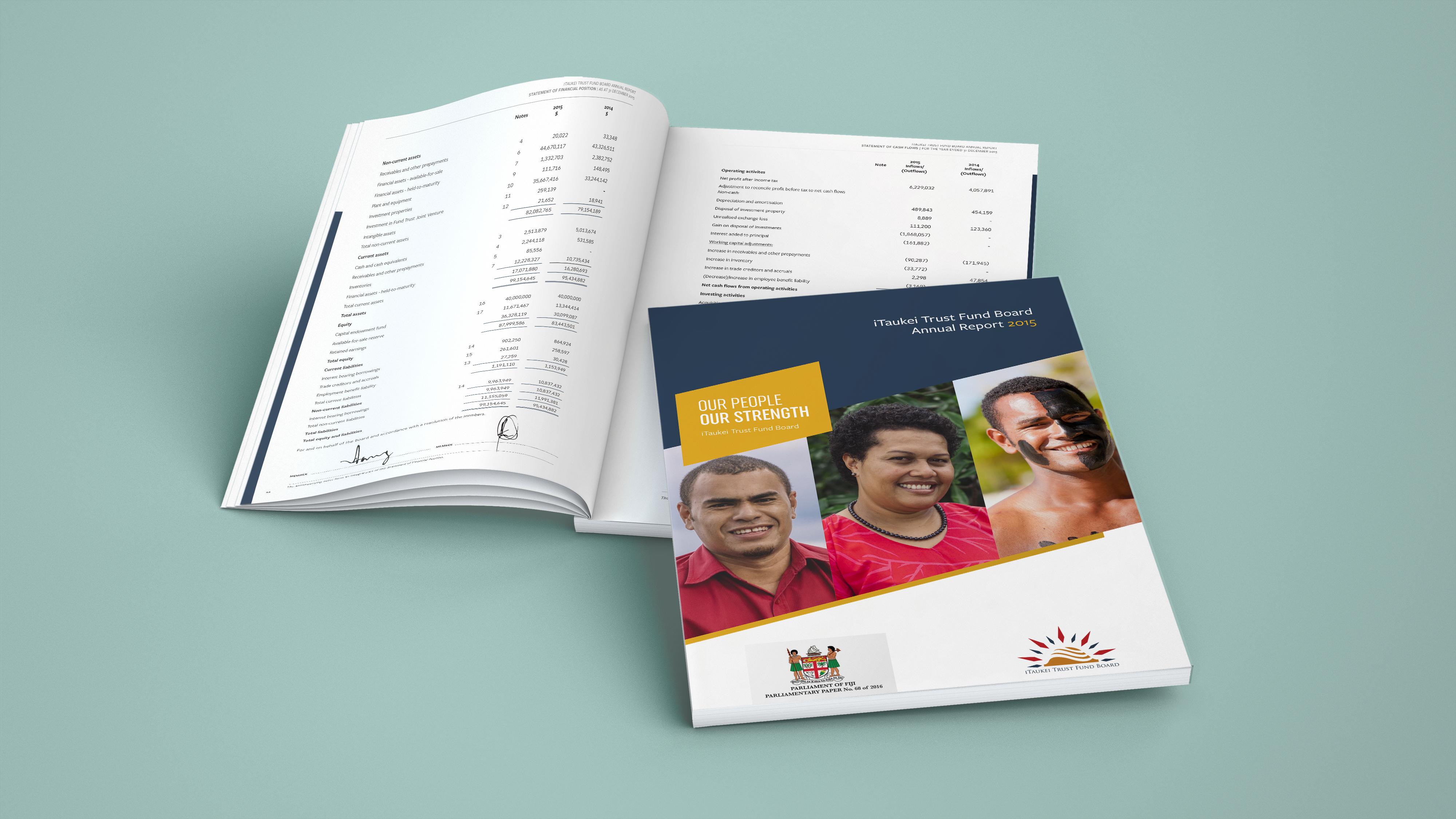 iTaukei Trust Fund Board Annual Reports 2015